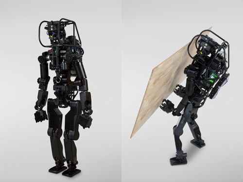 La construcción unida a los robots