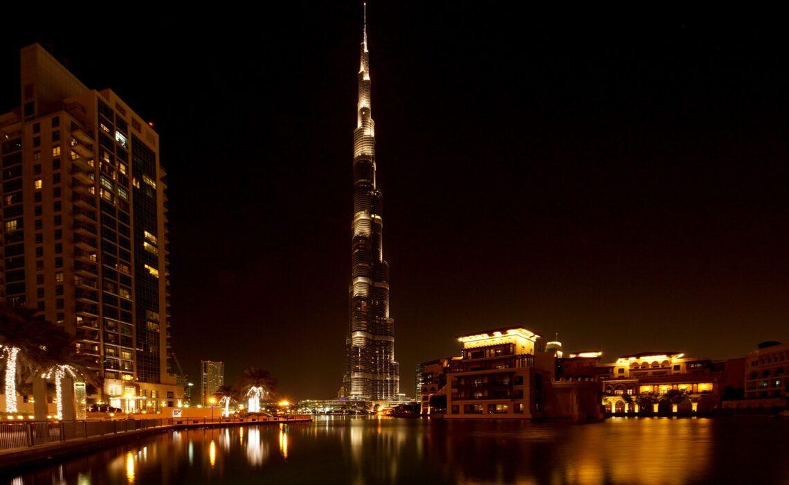 La construcción más alta del mundo se encuentra en Dubaii