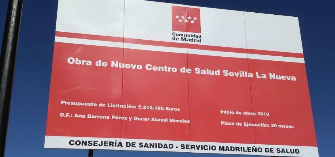 Centro de Salud de Sevilla La Nueva, Madrid